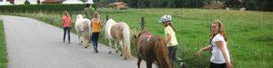 Kindergeburtstag auf dem Reiterhof feiern Rosenheim